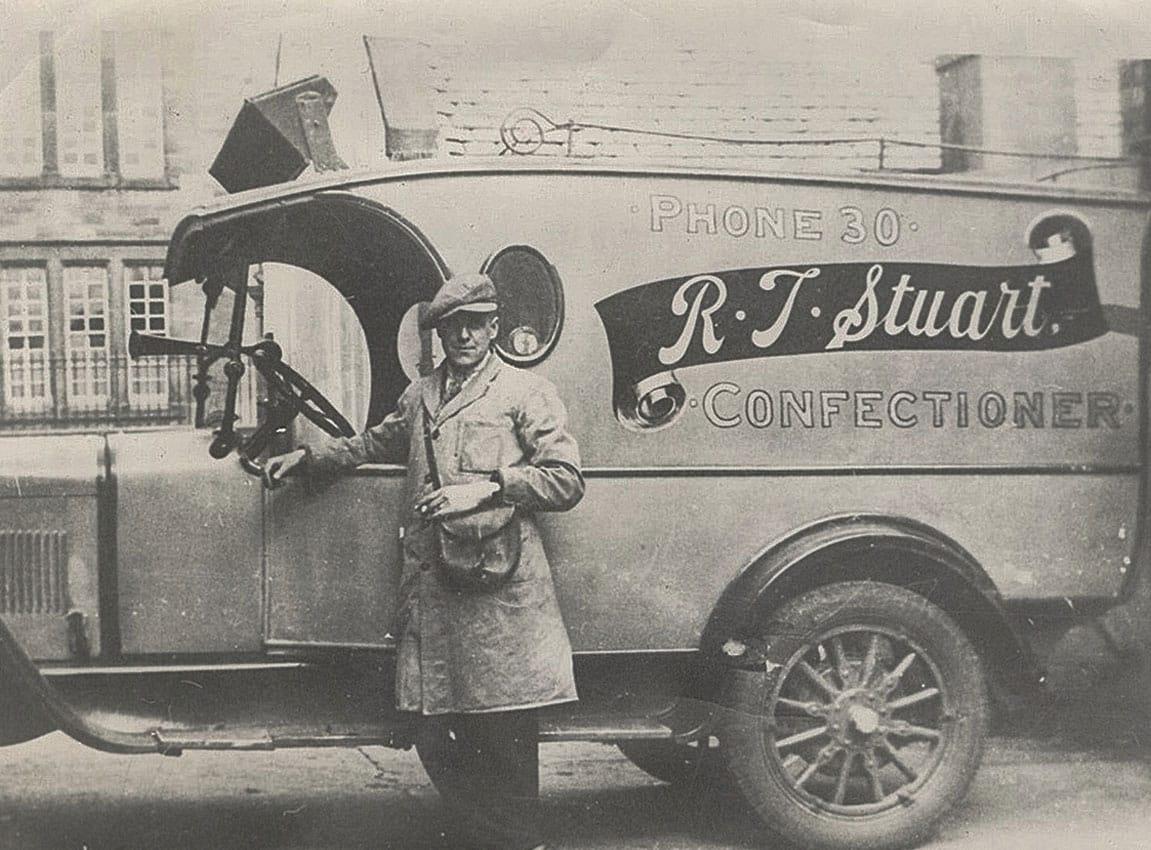 R.J. Stuart Confectioner Van