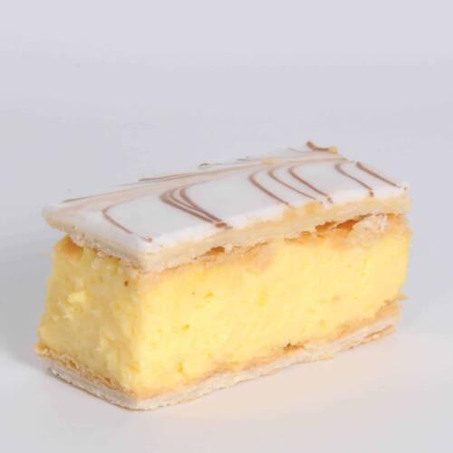Vanilla Slice - Stuart's Fine Foods Bakers