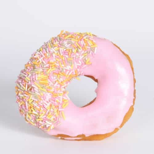Iced Doughnut - Stuart's Fine Foods Bakers